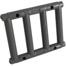 LEGO Dark Stone Gray Bar 1 x 4 x 3 with 4 End Protrusions (62113)