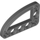 LEGO Dark Stone Gray Beam 3 x 5 x 0.5 Bent 90 Quarter Ellipse (32250)
