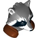 LEGO Dark Stone Gray Creature Head (32809)