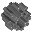 LEGO Dark Stone Gray Gear with 8 Teeth Type 2 (10928)