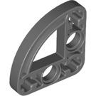 LEGO Dark Stone Gray Half Beam 3 x 3 Bent 90 Degrees with Curve (32249)
