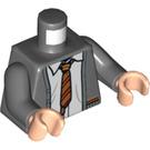 LEGO Dark Stone Gray Harry Potter Minifig Torso (76382)