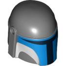 LEGO Dark Stone Gray Mandalorian Helmet (93053)