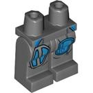LEGO Dark Stone Gray Mandalorian Warrior Minifigure Hips and Legs (66524)
