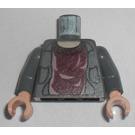 LEGO Dark Stone Gray Minifig Torso