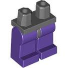 LEGO Minifigure Hips with Dark Purple Legs (73200 / 88584)