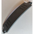 LEGO Dark Stone Gray Panel Curved 13 x 2 x 3 with Pin Holes (28923)