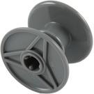 LEGO Dark Stone Gray Reel (32012)