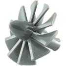 LEGO Dark Stone Gray Rotor Blades with Pin (18753 / 46667)
