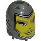 LEGO Dark Stone Gray Sir Danju Large Figure Head