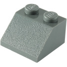 LEGO Dark Stone Gray Slope 45° 2 x 2 (3039)