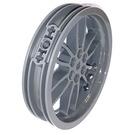 LEGO Dark Stone Gray Wheel 75 x 17mm (88517)