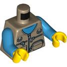 LEGO Caravan Child Minifig Torso (76382)