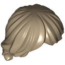 LEGO Dark Tan Minifigure Hair Tousled and Layered (92746)