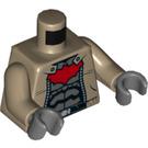 LEGO Dark Tan Red Hood Minifig Torso (76382)