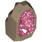 LEGO Dark Tan Rock Crystal (49656)