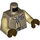 LEGO Dark Tan Rodian Alliance Fighter Minifig Torso (76382)