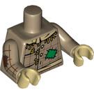 LEGO Tan foncé Scarecrow Torso (88585)