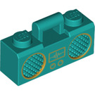 LEGO Dark Turquoise Ghettoblaster 1 x 3 x 1 (68410)