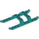 LEGO Dark Turquoise Landing Skids (30248)