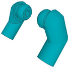 LEGO Dark Turquoise Minifigure Arms (Left and Right Pair)