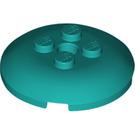 LEGO Dark Turquoise Sphere 4 x 4 with Knobs (65138)