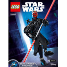LEGO Darth Maul Set 75537 Instructions