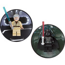 LEGO Darth Vader and Obi Wan Kenobi magnet set (5002823)