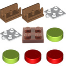 LEGO City Advent Calendar Set 60155 Subset Day 5 - Gingerbread House