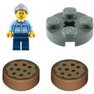 LEGO City Advent Calendar Set 60155 Subset Day 8 - Grandma