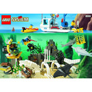 LEGO Deep Sea Bounty Set 6559 Instructions