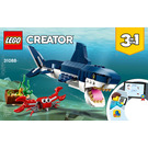 LEGO Deep Sea Creatures Set 31088 Instructions