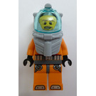 LEGO Deep Sea Diver with Orange Outfit Minifigure