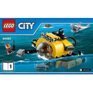 LEGO Deep Sea Helicopter Set 60093 Instructions