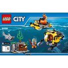 LEGO Deep Sea Operation Base Set 60096 Instructions