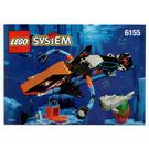 LEGO Deep Sea Predator Set 6155 Instructions