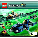 LEGO Deep Sea Quest Set 8636 Instructions