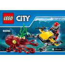 LEGO Deep Sea Scuba Scooter Set 60090 Instructions