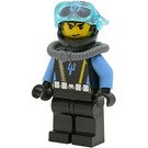 LEGO Deep Sea Treasure Hunter Diver Minifigure