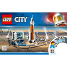 LEGO Deep Space Rocket and Launch Control Set 60228 Instructions