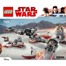LEGO Defense of Crait Set 75202 Instructions