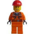 LEGO Demolition Driller Driver Minifigure