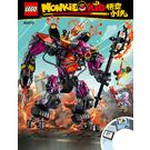 LEGO Demon Bull King Set 80010 Instructions