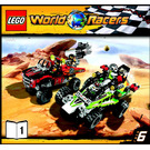 LEGO Desert of Destruction Set 8864 Instructions