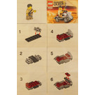 LEGO Desert Rover Set 30091 Instructions