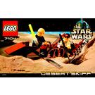 LEGO Desert Skiff Set 7104 Instructions