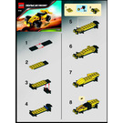 LEGO Desert Viper Set 8122 Instructions