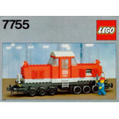 LEGO Diesel Heavy Shunting Locomotive Set 7755
