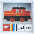 LEGO Diesel Locomotive Set 723-1 Instructions