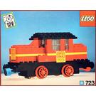 LEGO Diesel Locomotive Set with DB Sticker 723-2